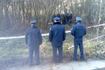 Два десятка милиционеров взяли в кольцо тело Ярослава Мазурка