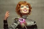 Украинка создала невероятно красивую куклу Людмилы Гурченко
