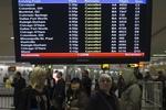 Из-за нового шторма крупнейшие авиакомпании отменили более тысячи рейсов в Нью-Йорке