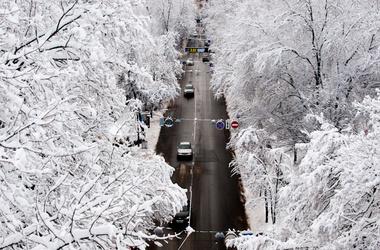 Зима минус
