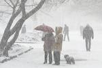 В Украину идут морозы и снегопады