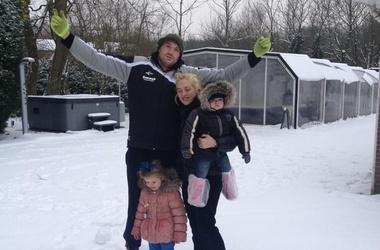 Тайсон фьюри с женой и детьми фото