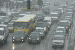 В Киеве объявлена чрезвычайная ситуация из-за снегопада