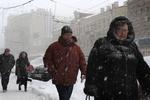 Снежный апокалипсис добрался до России