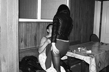 Секс в сауне kz