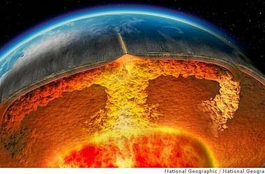 Температура ядра Земли оказалась на тысячу градусов выше, чем считалось ранее