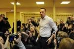 Навального освободили в зале суда