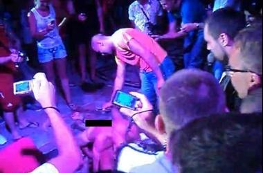 Порно на дискотеке киев видео