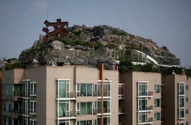 Китаец построил виллу свое мечты на небоскребе