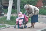 Старейшая роженица Украины просит милостыню и избегает общения