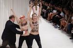 FEMEN сорвали модный показ Nina Ricci