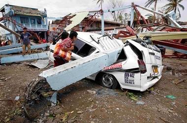 <p>Тайфун в Китае. Фото: AFP</p>