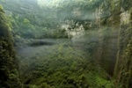 В Китае нашли подземную пещеру со своей погодной системой