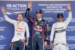 Марк Уэббер выиграл поул Гран-при Японии