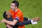Робин ван Перси стал лучшим бомбардиром в истории сборной Голландии