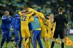 Виктор Янукович поздравил сборную Украины с победой над Польшей