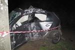 Молодой парень разбился в Киеве на Volkswagen Golf GTI