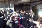 Толпа разгромила торговый центр в Москве