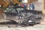 На Закарпатье иностранец разбил два милицейских авто и сбежал