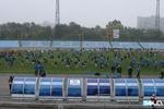 Рекорд Украины: 600 человек одновременно набивали мяч