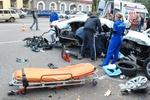 В Кривом Роге подростки на иномарке разгромили припаркованные авто, есть погибшие