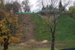 Деревья на склоне под Мариинским парком вырубили ради большой лестницы
