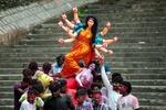 В Индии проходит фестиваль в честь богини, которая победила зло
