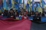 """""""Бандеровская армия"""" мирно провела марш УПА в Киеве"""