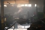 В Крыму сгорел завод по производству жестяных банок