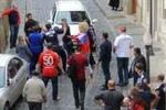 Россияне перед матчем в Азербайджане устроили драку на улице