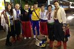 В Сан-Марино украинские болельщики отбили у ФИФА красно-черный флаг