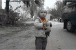 Под Киевом на АЗС бросили ребенка