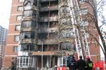 Как выглядит элитная донецкая многоэтажка после масштабного пожара