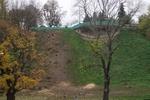 Склон возле Мариинского дворца в Киеве зальют бетоном