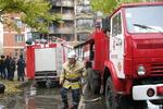 Элитную высотку в центре Донецка могли поджечь