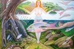 """Художник из Днепра рисует рай, который """"должен вызвать желание жить"""""""
