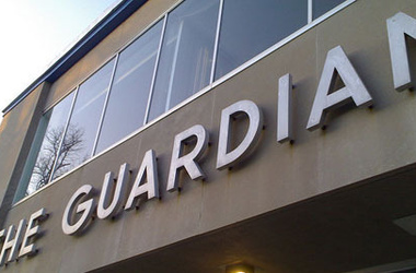 <p>Офис The Guardian. Фото: newsradio.com.ua</p>