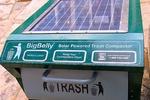 В Брюсселе солнечную энергию собирают урны