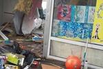 В Киеве иномарка разнесла ларек с игрушками