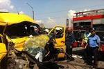 В Одесской области маршрутка влетела в грузовик: 6 человек в больнице