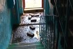 Многоэтажный дом в Днепропетровске утопает в фекалиях