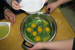 В киевском музее научат готовить зеленую яичницу