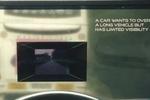 Благодаря новому лобовому стеклу, водители смогут видеть сквозь автомобили