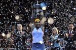 Яркие эмоции победительницы Итогового чемпионата WTA