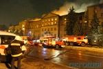Стала известна возможная причина пожара в Аграрной академии