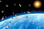 В NASA посчитали, сколько мусора из космоса падает на Землю