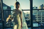 Кристина Риччи похвасталась свадебным платьем