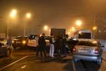 В Днепропетровске пьяный водитель джипа разнес восемь автомобилей