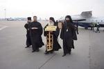 В Киев привезли священные мощи