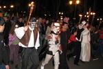 Хэллоуин в Харькове: шествие зомби, фокусник Дракула и ужасные тыквы